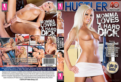 Momma Loves a Hard Dick - Hustler Adult XXX Sealed DVD