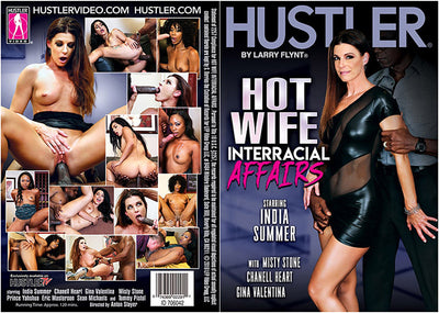 *Hot Wife Interracial Affairs - Hustler - 2018 Sealed DVD