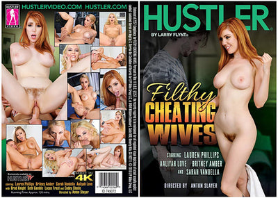 *Filthy Cheating Wives Hustler - 2018 Sealed DVD