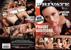 Prague Auditions 2 Private Sealed DVD