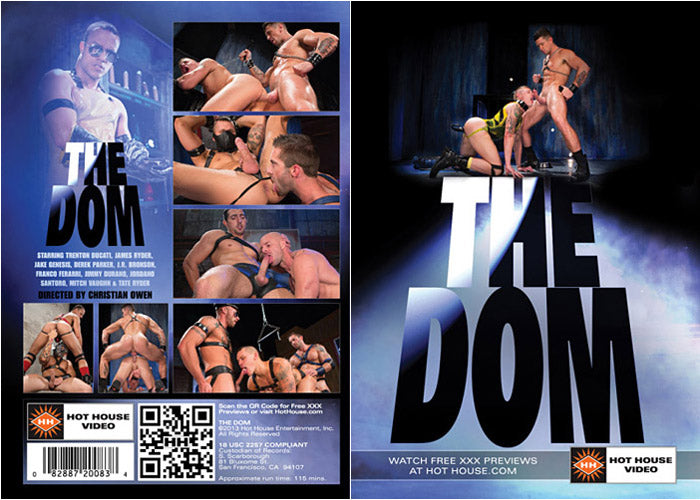 The Dom - Hot House Video Gay Sealed DVD