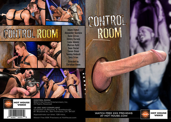 Control Room - Hot House Video Gay Sealed DVD