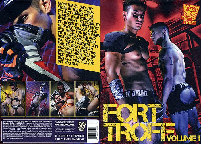 Fort Troff #1 - Cocky Boys Gay Sealed DVD (Models Over 18)