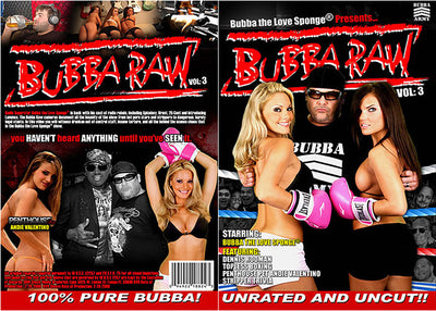 Bubba Raw 3 - Pleasure 2000s Classic DVD