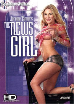 The News Girl (Cable Version/Soft Core) Legend DVD in White Sleeve