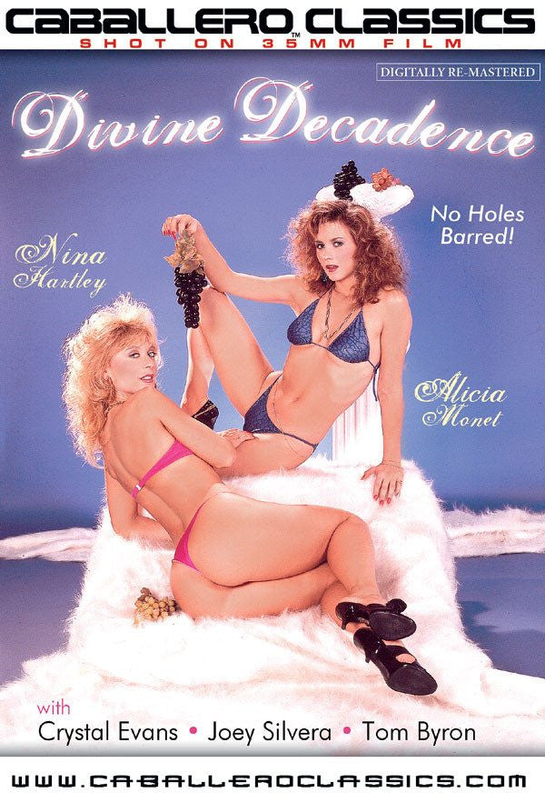 Divine Decadence - Nina Hartley - Classic DVD
