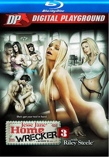 Home Wrecker #3 (jesse jane) Blu Ray Digital Playground DVD