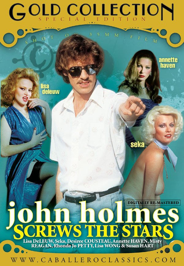 John Holmes Screws the Stars - Classic DVD