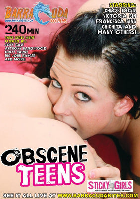 Obscene Teens - 4 Hour DVD in Sleeve