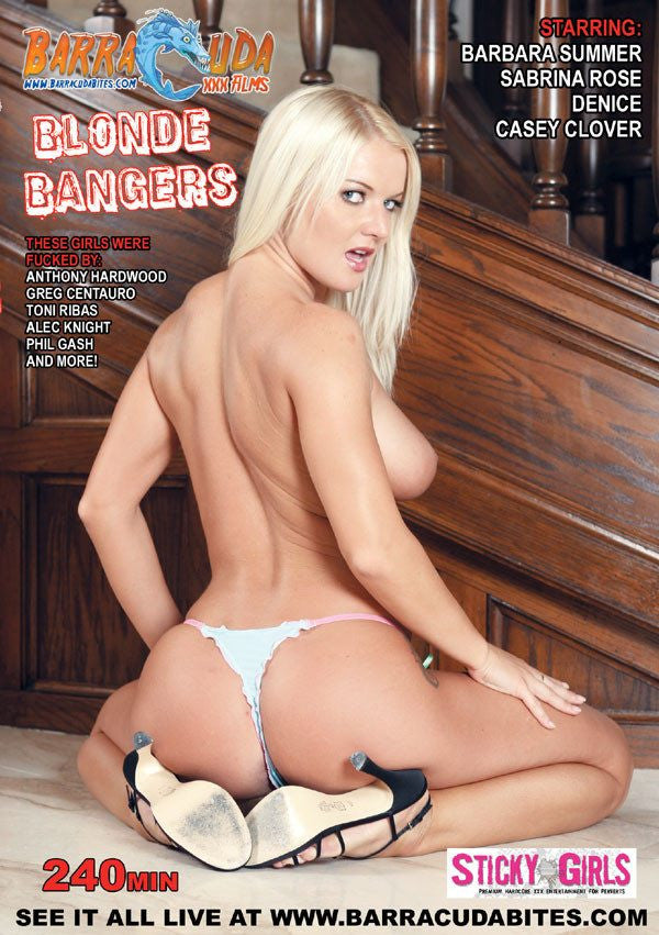 Blonde Bangers - 4 Hour DVD