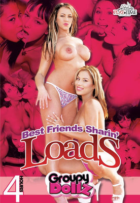 Best Friends Sharin Loads - 4 Hour DVD in Sleeve