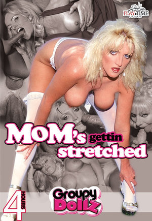 Mom's Gettin Stretched- 4 Hour DVD in Sleeve.