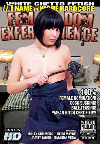 Fem Dom Experience - White Ghetto Cheap Adult DVD