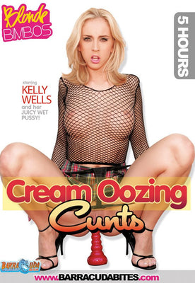 Cream Oozing Cunts - 5 Hour DVD in Sleeve