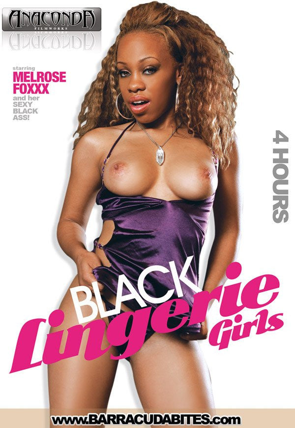 Black Lingerie 18+ Girls - 4 Hour Black DVD