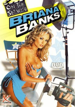 On The Set with Briana Banks - Legend Adult XXX DVD in White Sleeve