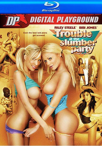 Trouble at the Slumber Party Digital Playground Blu Ray DVD