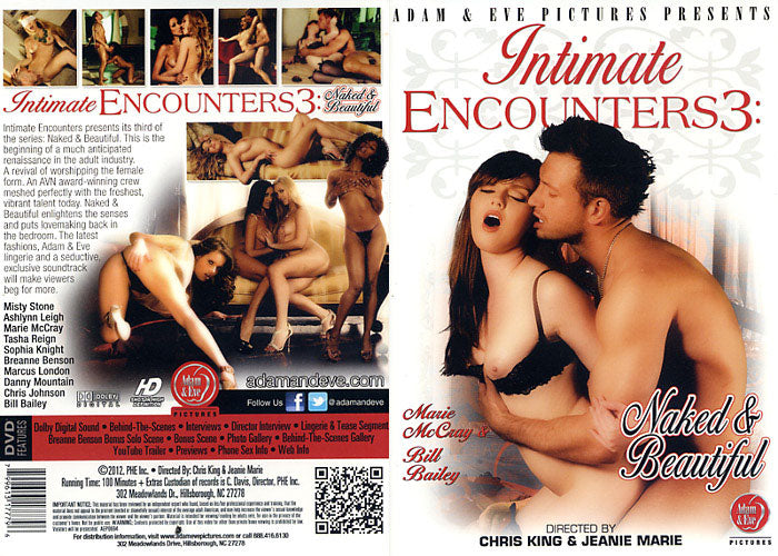 Intimate Encounters #3 - Adam & Eve Sealed DVD
