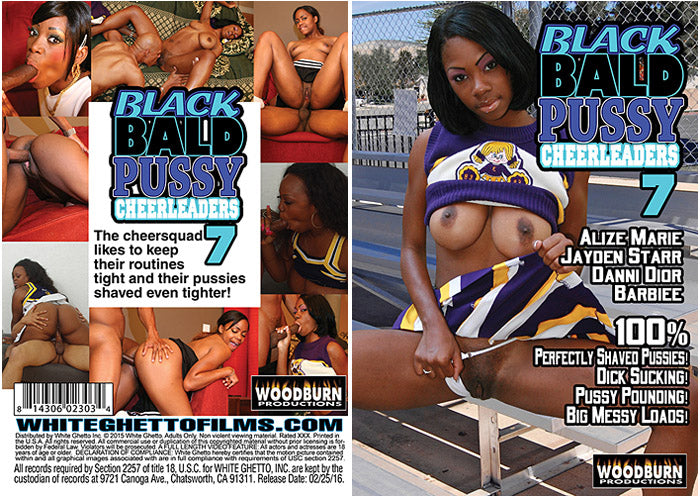 Black Bald Pussy Cheerleaders #7 - Woodburn Sealed DVD