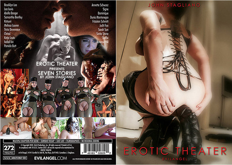 Erotic Theater 1 - Evil Angel Sealed DVD