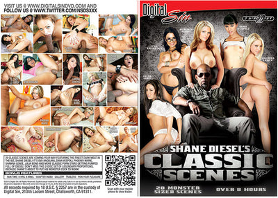 Shane Diesel's Classic Scenes #1 - Digital Sin 2 Sealed DVD Set