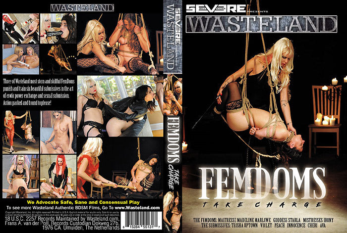 FemDoms Take Charge - Severe Films  Sealed DVD