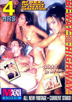 Bi Way or the Highway 4 Hour Bisexual DVD In Sleeve
