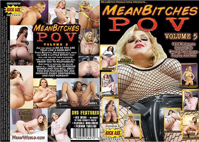 Mean Bitches POV #5 - Meanbitch Sealed DVD