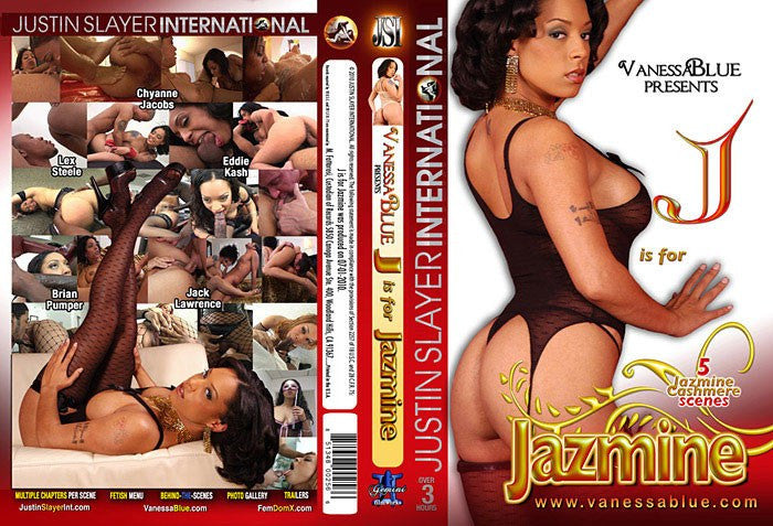 J is for Jazmine - Justin Slayer Sealed DVD