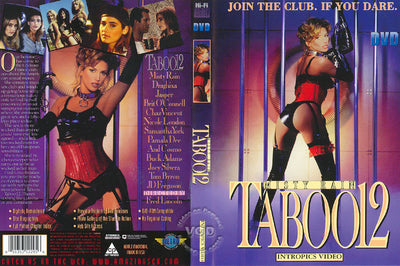 Taboo 12 Cal Vista Classic Sealed DVD