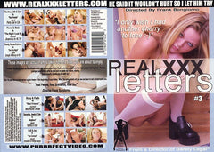 Real XXX Letters #3 - Adult XXX Sealed DVD