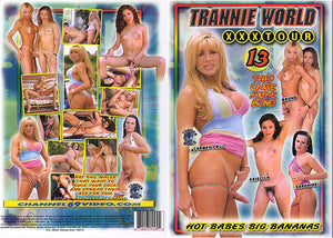 Trannie World XXX Tour #13 - Channel 69 Sealed DVD