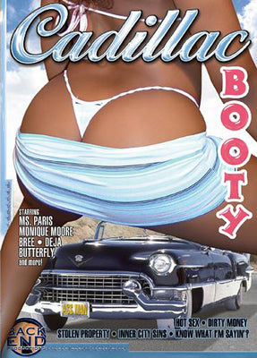 Cadillac Booty - Back End Sealed DVD