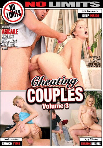 Cheating Couples #3 No Limits - Adult XXX DVD