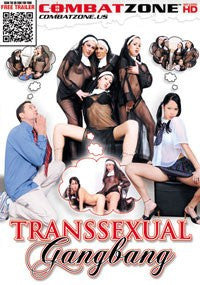 Transsexual Gangbang - Combat Zone . Transsexual DVD in Sleeve