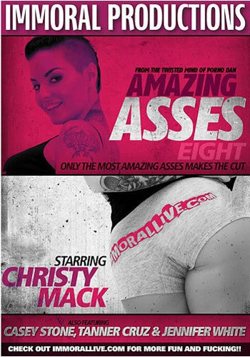 Amazing Asses #8 (christy mack) Immoral Productions DVD