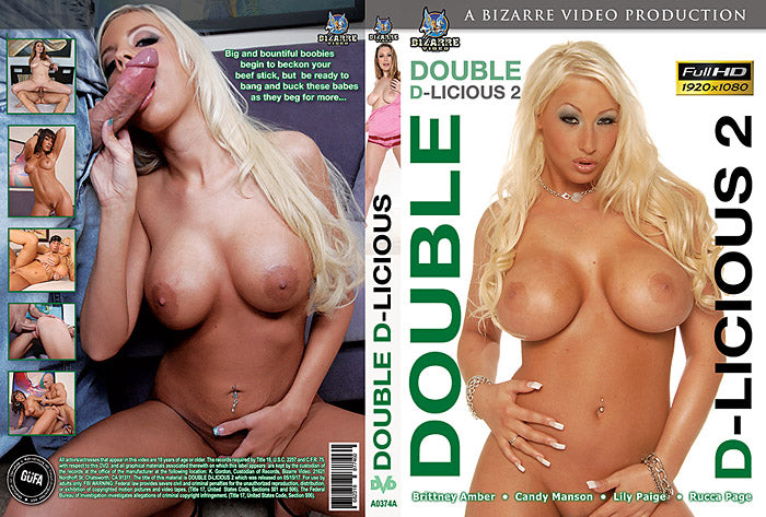 Double D-Licious #2 - Bizarre Video Sealed DVD