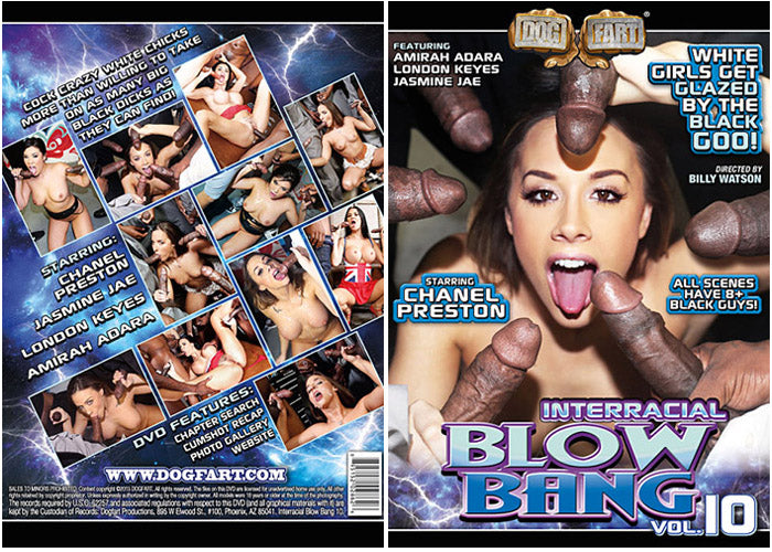 Interracial Blow Bang #10 - Dog Fart Sealed DVD