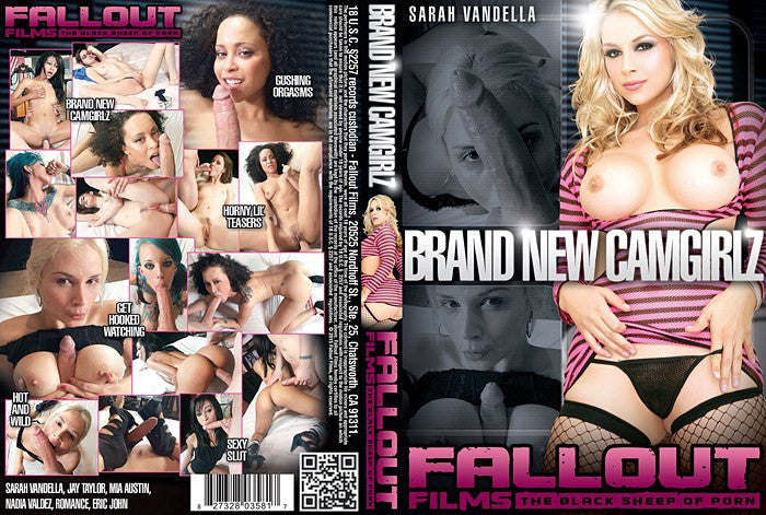 Brand New Camgirlz #1 - Fallout Adult XXX Sealed DVD