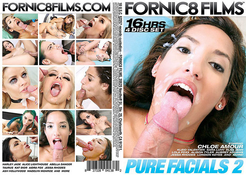 Pure Facials #2 - Fornic8 Films 16 Hour 4 DVD Sealed Set