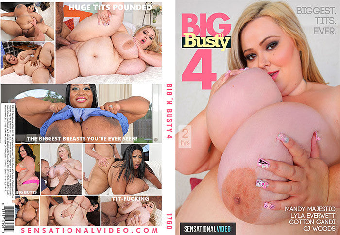 Big N Busty #4 - Sensational Sealed BBW DVD