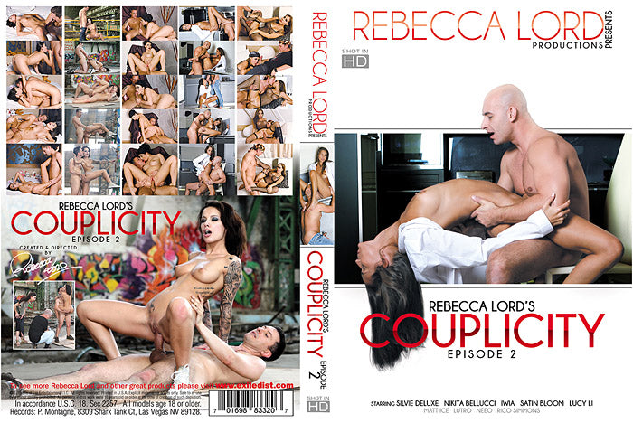Couplicity #2 - Rebecca Lord Sealed DVD