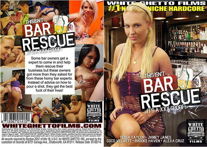 This Aint Bar Rescue - White Ghetto Cheap Adult DVD
