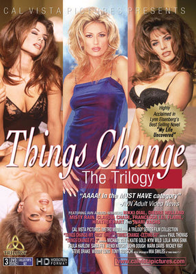 Things Change The Trilogy 3 Sealed DVD Collectors Set