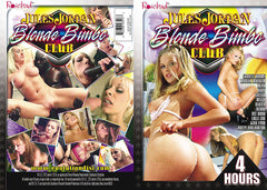 Blonde Bimbo Club 4 hours Jules Jordan - Sealed DVD