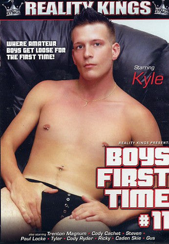 Boys First Time #11 - Reality Kings Gay Sealed DVD