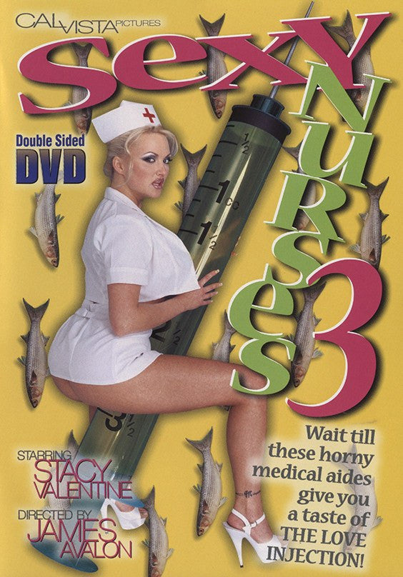 Sexy Nurses #3 (stacey valentine) Cal Vista Sealed DVD
