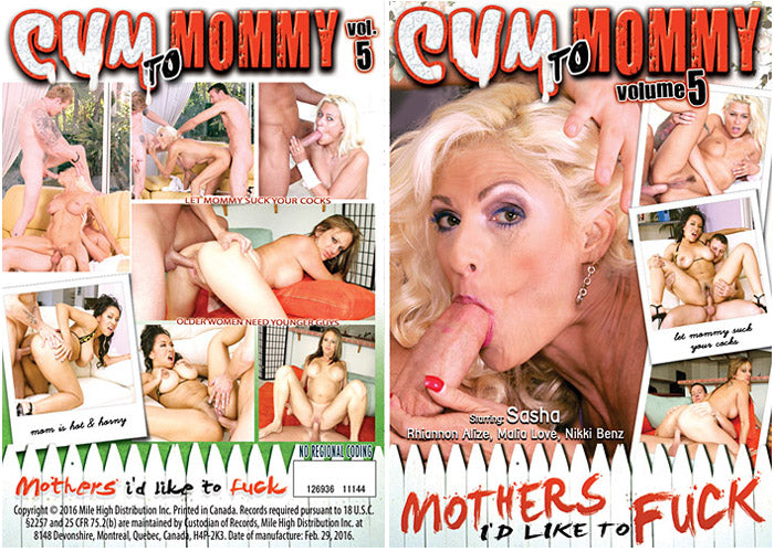 Cum to Mommy #5 - Mile High DVD