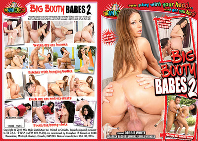Big Booty Babes Pop Shots - Sealed DVD