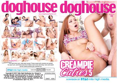 Creampie Cuties 5 Doghouse - Sealed DVD